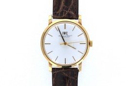 Men's I.W.C Schaffhausen 14kt Vintage Watch Model 2400 - $3,415.50