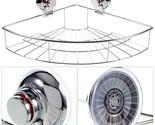 Dual Suction Cups Triangle Basket for Bathroom or Kitchen Requisites CW816