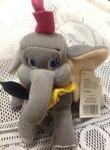 Disney Store Dumbo B EAN Ie B EAN Bag Plush Stuffed W/ Tags Judith Sport - $5.93