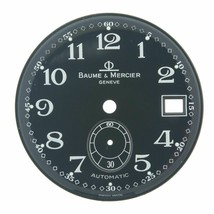 Baume & Mercier Geneve 30 mm Arabic Numerals Black Color Watch Dial - $189.00