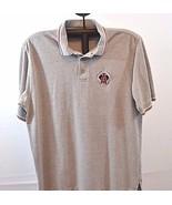 Anaheim Angels Polo Shirt Gray XL cotton blend short sleeve unisex adult - $19.99