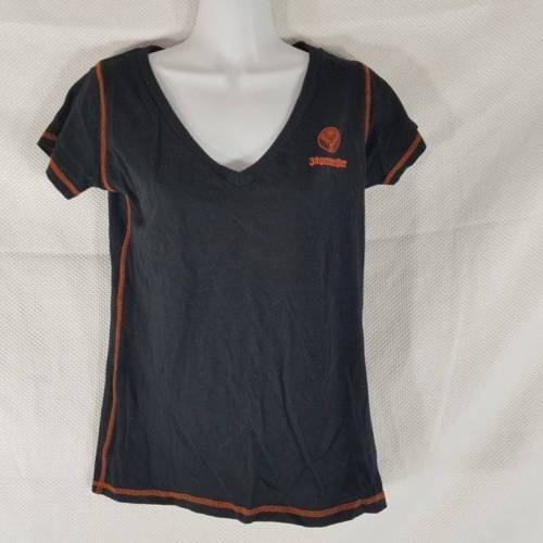 8bb846f21cf Jagermeister Black Orange Logo V Neck Promo and 50 similar items