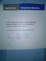 Made By Design Brave Blue Twin/Twin XL Temperature Balancing Sheet Set NWT image 2