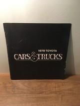 1978 Toyota Cars and Trucks Brochure - $11.87