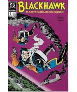 Blackhawk Comic Book #2 DC Comics 1989 VERY FINE- - $1.99