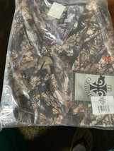 Med Couture Scrub Top XS Unisex Natural Disguise Camo Scrubs  Set - $24.99