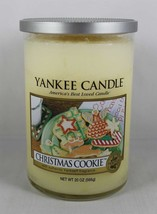 Yankee Candle CHRISTMAS COOKIE 20 oz (566g) Double Wick ~ Smells Yummy! ... - $16.82