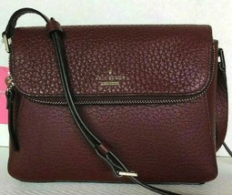 New Kate Spade New York Berrin Carter Leather handbag Cherry wood - $104.00