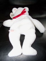 TY BEANIE BABY VALENTINO THE LOVE BEAR WITH PVC PELLETS NEW image 2