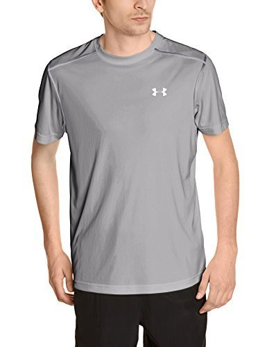 Under Armour Men's Coldblack Run Short Sleeve T Small Graphite-040