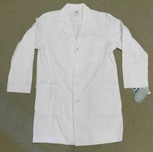 White Lab Coat Size 42 Med Couture 8311 Milliken BioSmart Medical Unifor... - $24.22