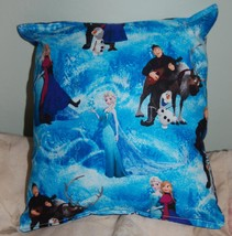 Frozen Pillow Disney Frozen Pillow HANDMADE In USA Toddler , Travel , Da... - $10.49