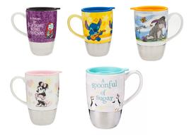Disney Store Eeyore Winnie Mary Poppins Stitch Jack the Mug Travel mug New - $59.95