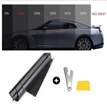 15%Black Car Window Anti-UV Tint Protective Film 3Mx50cm auto glass tint... - $14.84