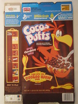 Empty General Mills Cereal Box 2008 Cocoa Puffs 16.5 Oz Cuckoo Show [G7C3z] - $7.17