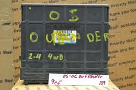 05-06 Mitsubishi Outlander 2.4L Engine Control Unit ECU 1860A125 Module 159-9C5 - $231.99
