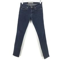 J Brand Damen Größe 24 Skinny Knöchel Jeans mit Dunkel Gewaschener Denim... - $31.10