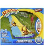 Wham-O Slip 'N Slide Surf Rider Double Sliding Lanes 16ft , color may vary - $23.51