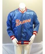 Atlanta Braves Jacket (VTG) - Satin Script by Fleco - Men's Extra Large - $195.00