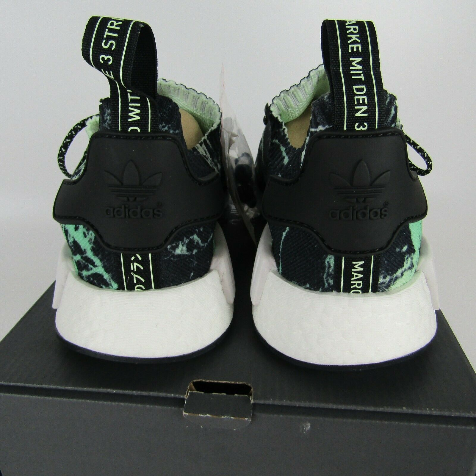 "Adidas Nmd_R1 Primeknit "" Grün Marmor "" Schuhe Herren Größe 12 BB7996 image 5"