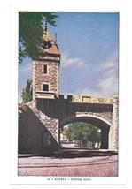 Canada Quebec Portes Kent City Wall Door Vintage QPE Postcard - $4.99