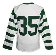 Custom Name # Pittsburgh Shamrocks Retro Hockey Jersey New White Any Size image 5