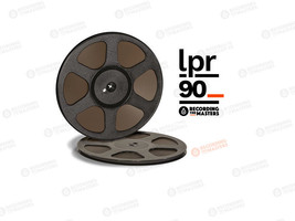 "RTM LPR90 BASF High Output LongPlay Reel Tape 1/4"" 3600' 1100m Authorise... - $51.54"