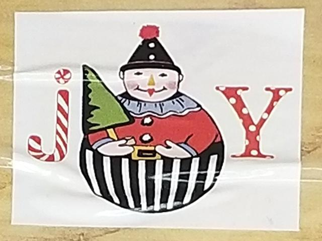 Studio 18 Joy Rubber Stamp
