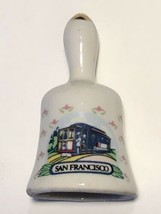 San Francisco California Trolley Car Collectible Ceramic Souvenir Mini B... - $11.95