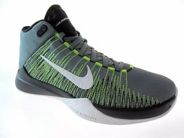 NIKE ZOOM ASCENTION MID SNEAKERS MEN SHOES BLACK/GREEN *32234-004 SIZE 1... - $98.99