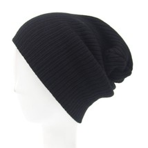New Winter Hats for Men Slouchy Baggy Beanie Women Solid Soft Hip Hop Ca... - $9.72