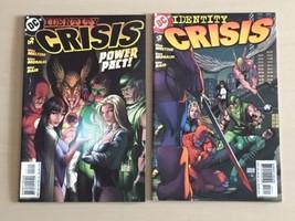 Identity Crisis (DC, 2004) #2A, 3A Meltzer, Morales, Bair - $5.40