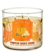 Bath & Body Works Pumpkin Cookie Dough 3 Wick Scented Candle 14.5 oz - $27.10