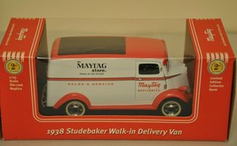 Liberty Classics Collectible Maytag 1938 Studebaker Delivery Van Coin Bank - $34.65