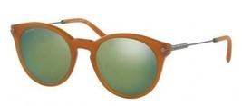 Authentic Bvlgari Sunglasses BV7030 5408/6R Brown Honey Frames Green Len... - £121.59 GBP