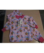 Winnie the Pooh Piglet Disney Size 4 Flannel Pajamas PJ Cotton Flannelet... - $9.93