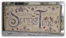 Spring Time cross stitch chart New York Dreamer - $7.20