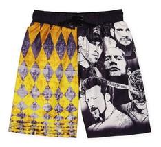 Wwe John Cena Rock cm Punk Sheamus UV50 Badeanzug Badehose Nwt Größe 6/7 - $15.09