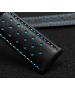 Replacment Leather Watch Strap Band BLUE Made For Tag Heuer Monaco - $37.39