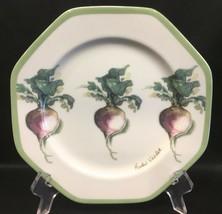 """Williams Sonoma Vegetable Garden Purple Radish 8"""" Salad Plate - $9.99"""