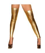 Women's Stockings, lingerie Lace Up Leather Wet Look Fetish Pole Dace ho... - $27.99