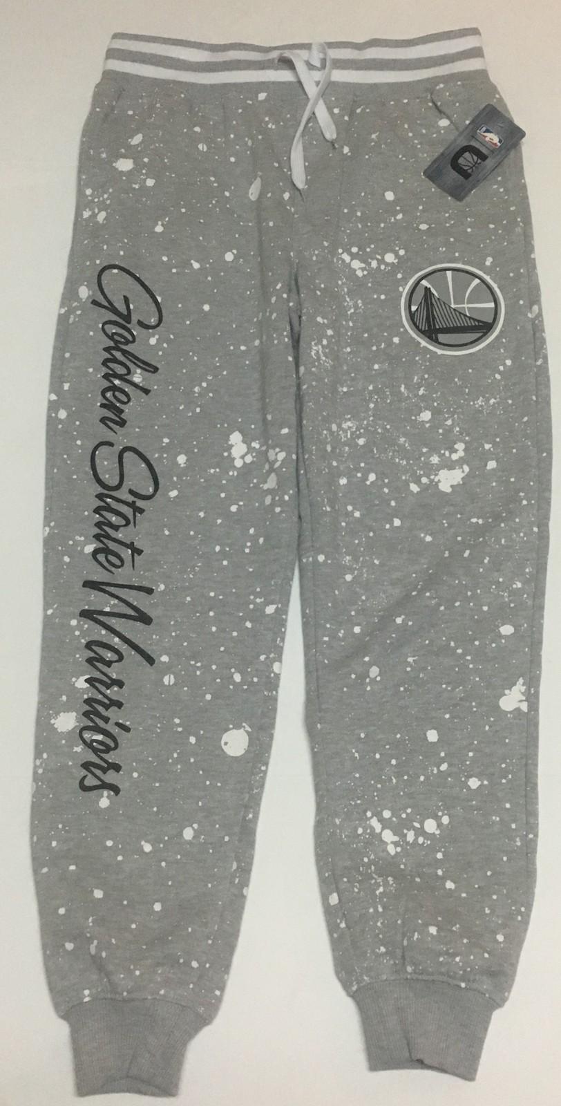Golden State Warriors Sweatpants Sz S (30/29) Gray Splash NBA