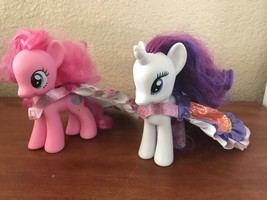"""My Little Pony Pinkie Pie & Rarity 6"""" Ponies With Capes - $7.92"""