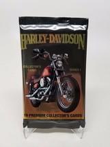 Harley Davidson Collectors Cards Series 1 Sealed Pack - $4.10