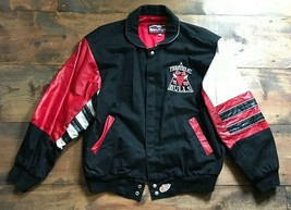 Jeff Hamilton Chicago Bulls Jacket-Limited Edition-NBA-Leather-Size L-Champions - $1,980.00