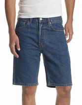 Levis 505 Mens Shorts Size 30  Medium Blue Regular Fit 100% Cotton New - $24.74