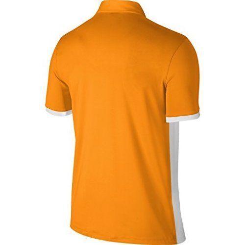 quality design e1bc0 646c3 New Nike Golf Men s Dri-Fit Icon Color Block Polo Vivid Orange Sizes  M L