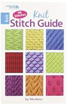 Leisure Arts 75435 Knit Stitch Guide Book - $5.49