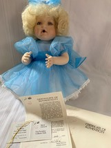Marie Osmond Baby Miracles 50230 13'' Porcelain Doll With COA and Original Box - $93.50