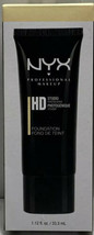 NYX HD High Definition Studio Photogenic Foundation Nude HDF101 New In B... - $15.96